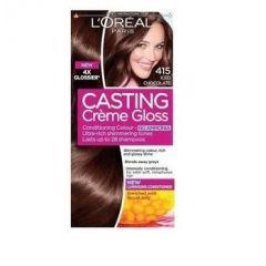Loreal Casting Creme Gloss Боя за коса без амоняк, 415  Iced Chocolate