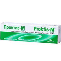 Проктис-М Ректална маз 30 гр Naturpharma