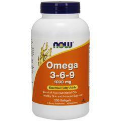 Now Foods Omega 3-6-9 Омега 3-6-9 1000 мг х 250  дражета
