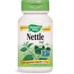 Nature's Way Nettle Leaf Лист от коприва за поддържане на жизнеността 435 мг х100 V капсули
