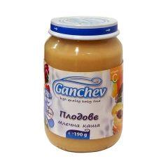 Ganchev Млечна каша с плодове 6М+ 190 гр