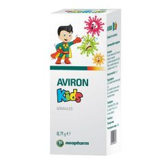Aviron Kids Авирон за деца при грип и вирусни инфекции 8,71 гр Neopharm