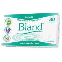 Botanic Bland За успокоение на нервната система х30 таблетки