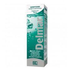 Delmar Hypertonic Sea Water Назален спрей за нос 50 мл Medochemie