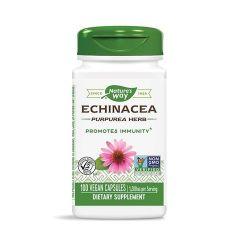 Nature's Way Echinacea Purpurea Herb Ехинацеа при грип и настинка 400 мг х100 V капсули