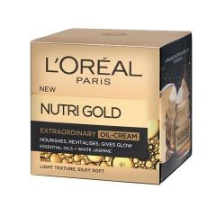 Loreal Nutri Gold  Extraordinary Oil Ревитализиращ крем против стареене 50 мл
