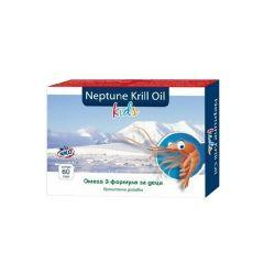 Herbamedica Neptune Krill Oil Kids Масло от крил за деца за имунната система х60 капсули