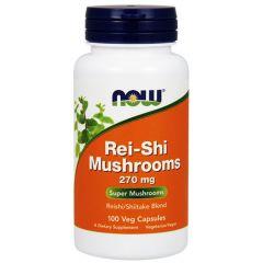 Now Foods Rei-Shi Mushrooms Рей-Ши 270 мг х 100 капсули