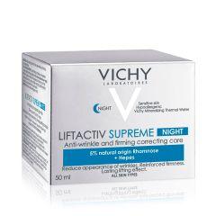 VichyLiftactivSupreme Нощенкрем против бръчки и отпусната кожа 50 мл