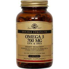 Solgar Omega 3 Double Strenght Омега 3 Двойна сила х60 капсули