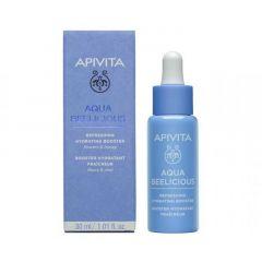 Apivita Aqua Beelicious Хидратиращ освежаващ бустер 30 мл