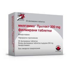 Милгамма Протект 300 мг х30 таблетки Woerwag Pharma