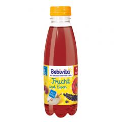 Bebivita напитка плодове с желязо 6М+ 500 мл