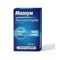 NaturProdukt Магнум Антистрес за нервната система x 28 таблетки