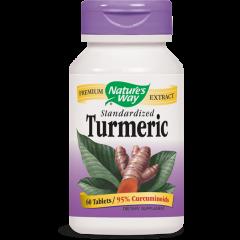 Nature's Way Turmeric Куркума – мощен антиоксидант 500 мг х60 таблетки