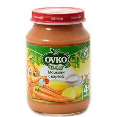 Ovko Bebelan Моркови с картоф Пюре 4М+ 190 гр