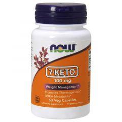 Now Foods 7-Keto 7-Кето 100 мг х 60 капсули