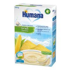 Humana млечна каша с царевичен грис 4М+ 200 гр