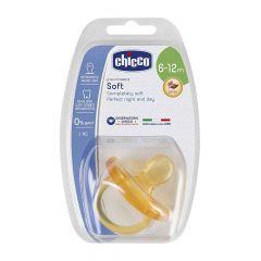 Chicco залъгалка физио софт каучук 6-12M х1 бр