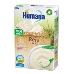 Humana био безмлена каша с ориз 4М+ 200 гр