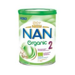 Nestle NAN Organic 2 Преходно мляко за кърмачета 6-12М 400 гр.