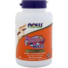 Now Foods BerryDophilus Kids Беридофилус Пробиотик за деца х 120 дъвчащи таблетки