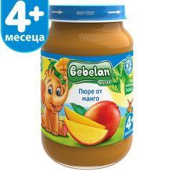 Ovko Bebelan Пюре от манго 4М+ 190 гр
