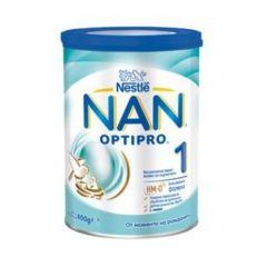 Nestle NAN Optipro 1 HM-O Адаптирано мляко за кърмачета 0-6М 400 гр