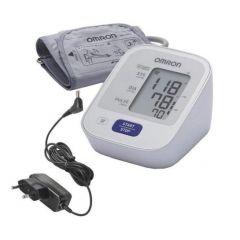 Апарат за измерване на кръвно налягане OMRON M2 (HEM-7121-E) + адаптeр