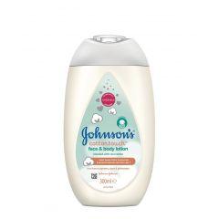 Johnson's Baby CottonTouch Лосион за лице и тяло за новородени 300 мл