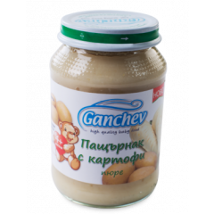 Ganchev Пюре пащърнак с картофи 4М+ 190 гр