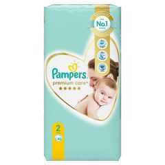 Пелени Pampers Premium Care Размер 2 Mini 46 бр