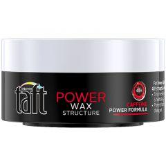 Taft Power Вакса за коса за мега силна фиксация с кофеин 75 мл
