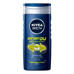 Nivea Men Energy Душ-гел за мъже с екстракт от мента 250 мл