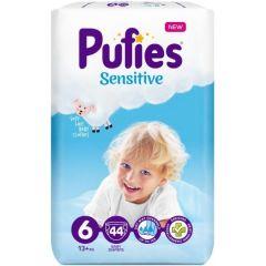 Pufies Sensitive Бебешки пелени MP №6 Extra Large 13+ кг x44 бр