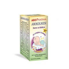 AboPharma Abokoliken с лайка Капки за бебета за по-добро разграждане на лактозата 7 мл