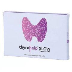 Thyrohelp Slow При свръхактивна щитовидна жлеза х30 капсули Naturpharma