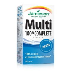 Jamieson Multi 100% Complete Мултивитамини за мъже х90 таблетки