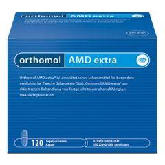 Orthomol AMD еxtra за напреднала Възрастова Дегенерация на Макулата x120 капсули