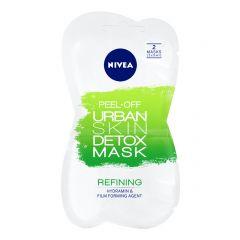 Nivea Urban Detox Почистваща пилинг маска за лице 2 х 5 мл