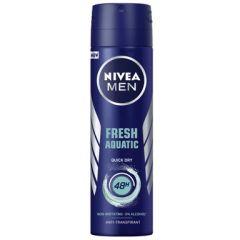 Nivea Men Fresh Aquatic Дезодорант спрей против изпотяване за мъже 150 мл