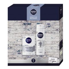 Nivea Men Sensitive Recovery Gift Set Подаръчен комплект