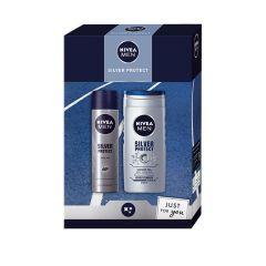Nivea Men Silver Protect Gift Set Подаръчен комплект