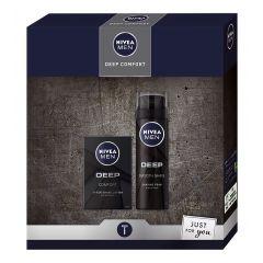 Nivea Men Deep Comfort Gift Set Подаръчен комплект