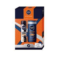 Nivea Active Sport Gift Set Подаръчен комплект