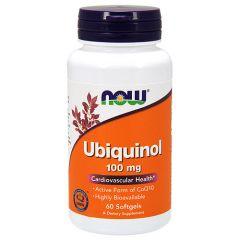 Now Foods Ubiquinol Убикинол 100 мг х 60 дражета