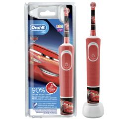 Oral-B D100 Vitality Cars Електрическа четка за зъби за деца 3+ години