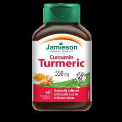 Jamieson Turmeric Куркума 550 мг х 60 капсули