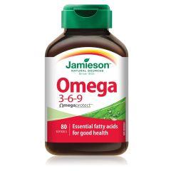 Jamieson Omega 3-6-9 Омега 3-6-9 Биокомплекс x 80 капсули