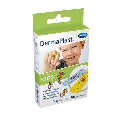 Hartmann DermaPlast Kids Водоустойчив пластир за деца за малки повърхностни рани 2 размера x20 бр